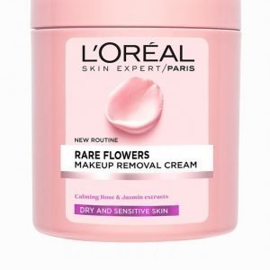 L'oréal Paris Rare Flowers Makeup Removal Cream 200 Ml Meikinpoistoaine