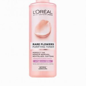 L'oréal Paris Rare Flowers Purifying Toner 400 Ml Meikinpoistoaine
