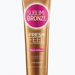 L'oréal Paris Sublime Bronze Fresh Feel Gel Non Tinted 150 Ml Itseruskettava