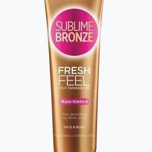 L'oréal Paris Sublime Bronze Fresh Feel Gel Non Tinted 150 Ml Itseruskettava