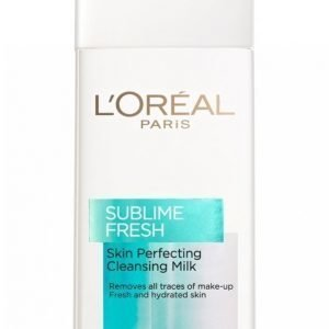 L'oréal Paris Sublime Fresh Cleansing Milk 200ml