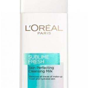 L'oréal Paris Sublime Fresh Cleansing Milk 200ml