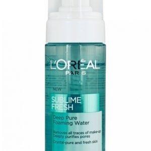 L'oréal Paris Sublime Fresh Foaming Water 150ml