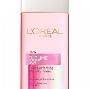 L'oréal Paris Sublime Soft Velvety Toner 200ml Kasvovesi