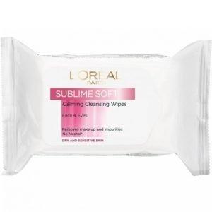 L'oréal Paris Sublime Soft Wipes 25st