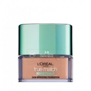L'oréal Paris True Match Minerals Powder Foundation Mineraalimeikkivoide Beige