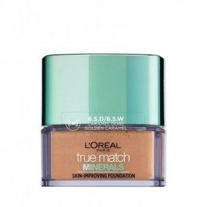 L'oréal Paris True Match Minerals Powder Foundation Mineraalimeikkivoide Caramel