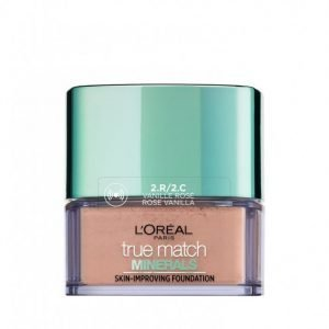 L'oréal Paris True Match Minerals Powder Foundation Mineraalimeikkivoide Rose Vanilla