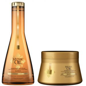 L'oréal Professionnel Mythic Oil Shampoo And Masque For Normal To Fine Hair Duo