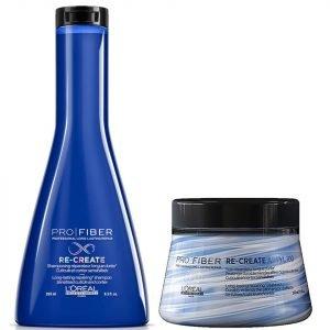 L'oréal Professionnel Pro Fiber Re-Create Damaged Hair Shampoo And Treatment Duo