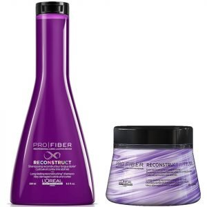L'oréal Professionnel Pro Fiber Reconstruct Very Damaged Hair Shampoo And Treatment Duo