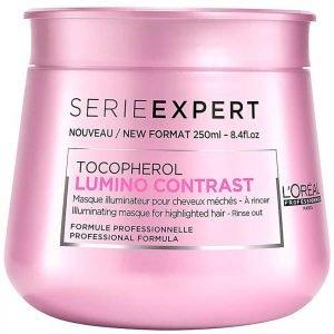 L'oréal Professionnel Serie Expert Lumino Masque 250 Ml