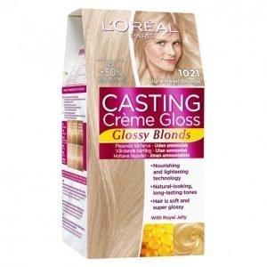 Loreal Casting Crème Gloss 1021 Light Pearl Blonde Kevytväri