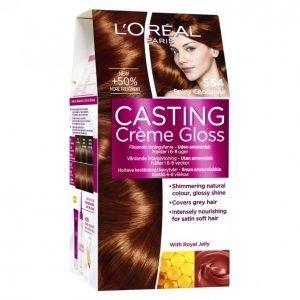 Loreal Casting Crème Gloss 554 Spicy Choco Hiusväri