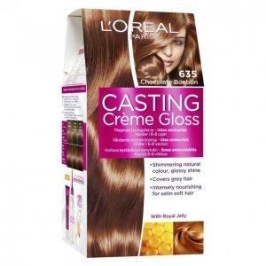 Loreal Casting Crème Gloss 635 Chocolate Blond Kevytväri