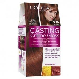 Loreal Casting Crème Gloss 645 Amber Hiusväri