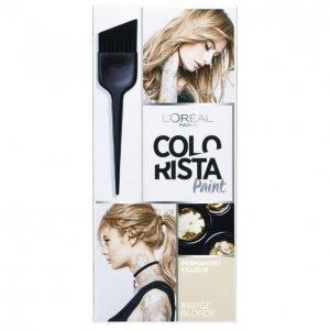 Loreal Colorista Hairpaint #Beigeblonde Kestoväri
