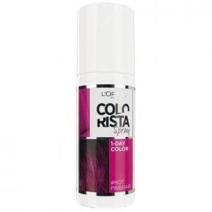 Loreal Colorista Spray #Hotpink Suihkutettava Hiusväri