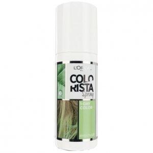 Loreal Colorista Spray #Minthair Suihkutettava Hiusväri