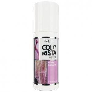 Loreal Colorista Spray #Pinkhair Suihkutettava Hiusväri