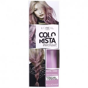 Loreal Colorista Wash Out #Lilachair
