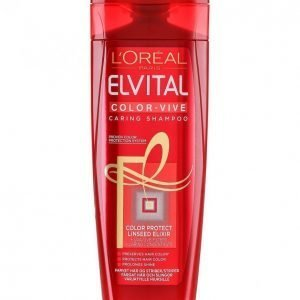 Loreal Elvital Color-Vive Shampoo 250 Ml
