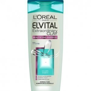 Loreal Elvital Extraordinary Clay Shampoo 250 Ml