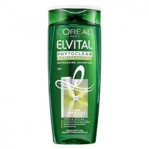 Loreal Elvital Phytoclear Refreshing Hilseshampoo 250 Ml