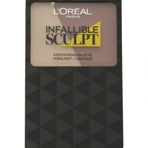Loreal Infalliable 24h Sculpt Contouring Paletti 10 G Medium Dark