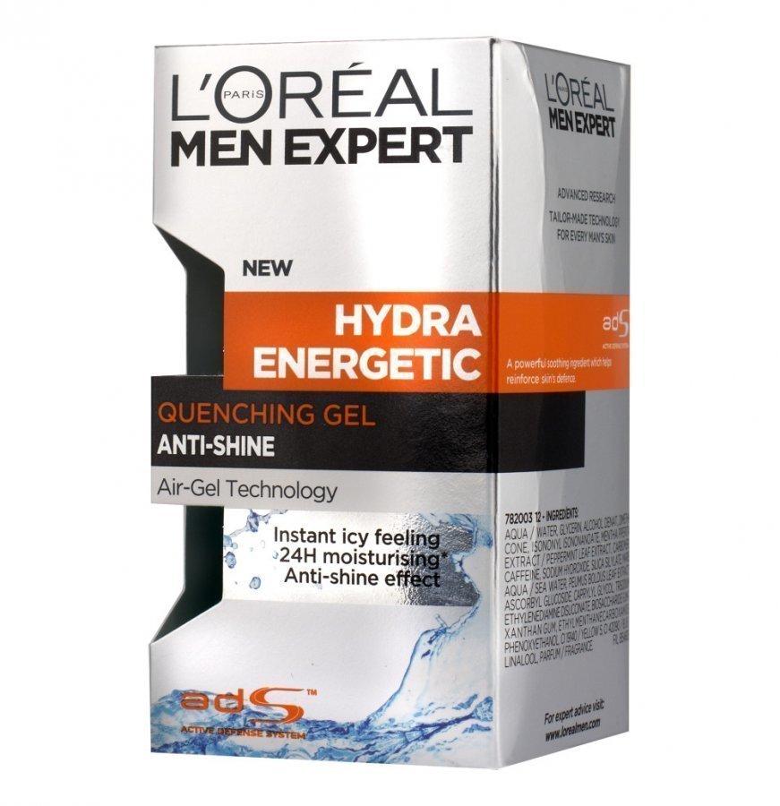 Loreal Men Hydra Energetic Kosteusgeeli 50 Ml