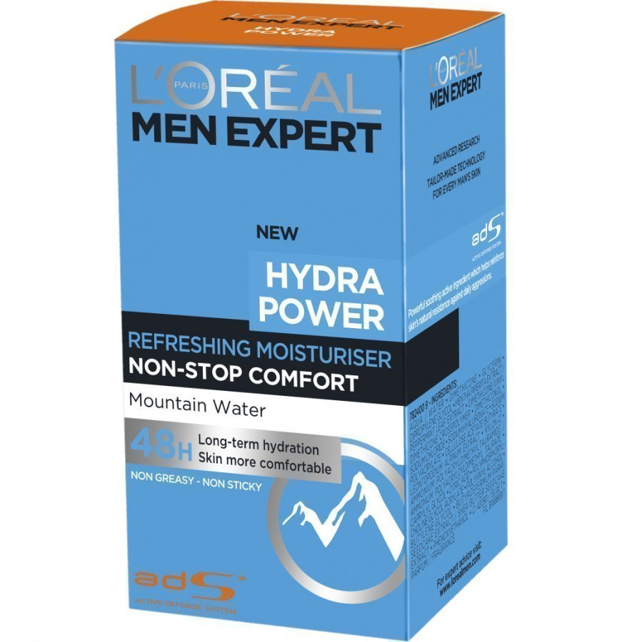 Loreal Men Hydra Power Kasvovoide 50 Ml