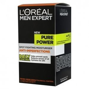 Loreal Men Pure Power Kosteusvoide 50 Ml