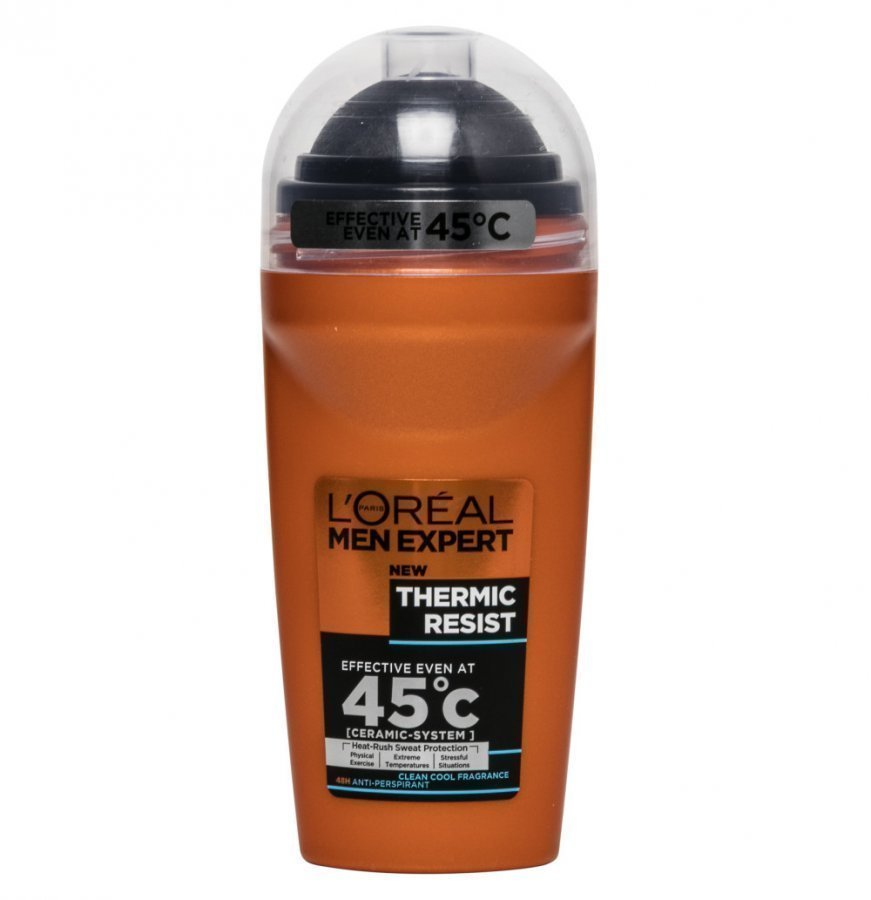 Loreal Men Thermic Resist Deo Roll-On 50 Ml