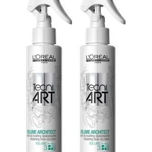Loreal Professional Tecni.Art Volume Architect Thickening Blow Dry Lotion Föönausemulsio 2 X 150 ml