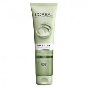 Loreal Pure Clay Purifying Cleansing Gel Mattapinnan Antava Puhdistusgeeli 150 Ml