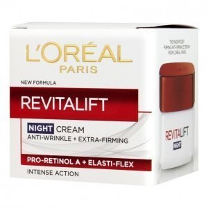 Loreal Revitalift Night Cream Anti-wrinkle + Extra firming Yövoide 50 Ml