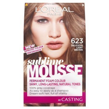 L'oreal Sublime Mousse Hair Colour 623 Delicious Brown Hiusväri