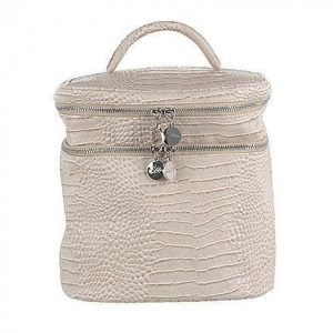 Lulu's Beauty Bag Beige Croco