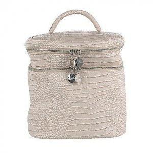 Lulu's Beauty Bag Beige Croco
