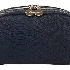 Lulu's Makeup Bag Blue Snake