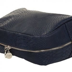 Lulu's Toilet Bag Blue Snake