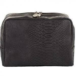 Lulu's Toilet Bag Grey Snake