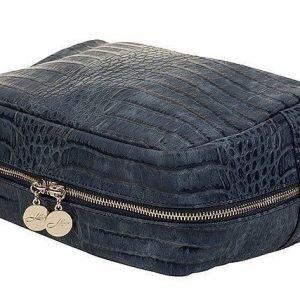 Lulu's Toilet Bag Ocean Blue Croco