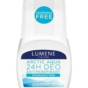 Lumene Arctic Aqua Fragrance Free 24h Deo Antiperspirant Deodorantti 60 ml