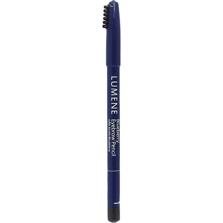 Lumene Blueberry Eyebrow Pencil 1 Grey Black 1