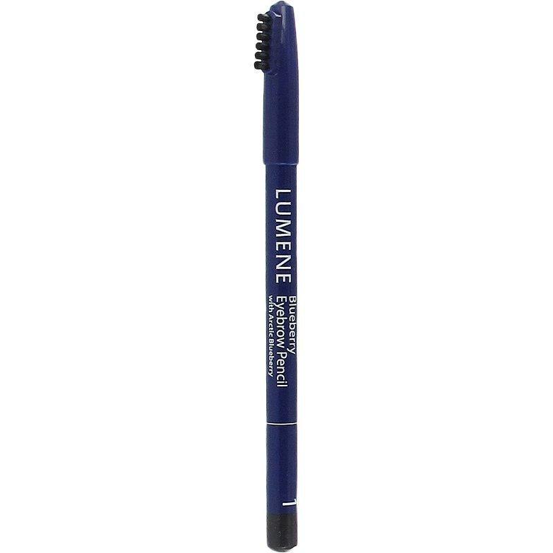 Lumene Blueberry Eyebrow Pencil 1 Grey Black 1