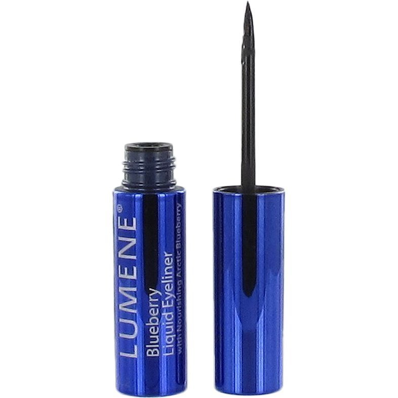 Lumene Blueberry Liquid Eyeliner 1 Rich Black 2