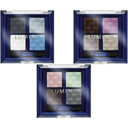 Lumene Blueberry Long-Wear Eyeshadow Palette Sandy Island