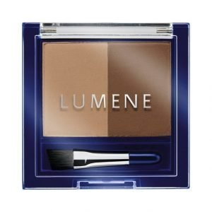 Lumene Blueberry Longwear Eyebrow Powder Puuterimainen Kulmaväri