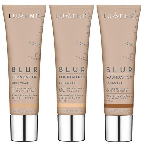 Lumene Blur Foundation 0 Light Ivory / Valon Hehkua